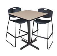 "Cain Cafe-Height Table - 36"" Square"