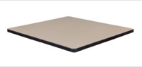 "30"" Square Laminate Table Top - Beige/ Grey"