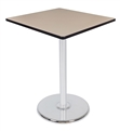 "Regency Via Cafe High-Top 36""  Square Platter Base Table"