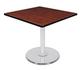 "Regency Via 30"" Square Platter Base Table"