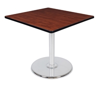 "Regency Via 42"" Square Platter Base Table"