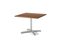 "Regency Via 30"" Square X-Base Table"