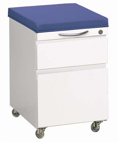 Great Openings Storage Mobile File Center With Cushion
