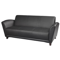 Santa Cruz Office Seating - Leather Sofa - VCC3