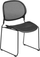 Black Mesh Side Chair