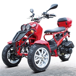 50cc Gas 3 Wheeler Trike Scooter
