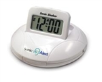 Sonic Shaker Portable Travel Alarm Clock