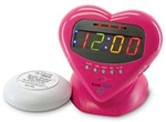 Sonic Boom Sweetheart  Alarm Clock with BedShaker