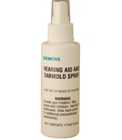 Siemens Ear Mold Spray Cleaner  (4 oz.)