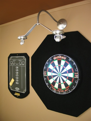 Dart Center Cordless Led Dartboard Light Flexible
