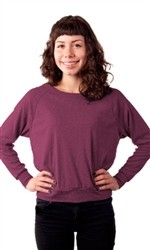 American Apparel Light Weight Womens Wide Crew