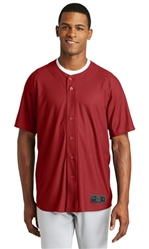 NEW ERA DIAMOND ERA FULL-BUTTON BASEBALL JERSEY