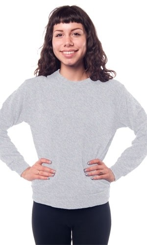 American Apparel Slouch Crew Neck