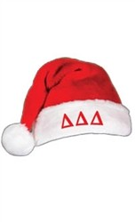 Greek Letter Santa Hat
