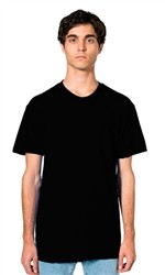 American Apparel Poly Cotton Short Sleeve Crew Neck