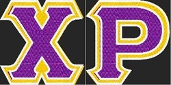 Chi-Rho Sweatshirt - Lakers Themed