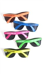 Greek Neon Sunglasses