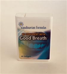 Goodbreath Badbreathpills Eliminate bad breath from within