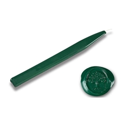 King's Jumbo Traditional Sealing Wax with wick - Forest Green