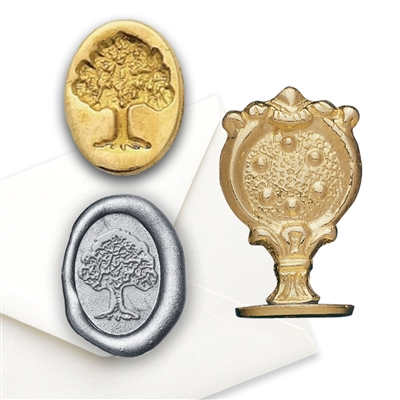 Wax Seal  Oak Tree/Tree of Life Brass handle Stamp