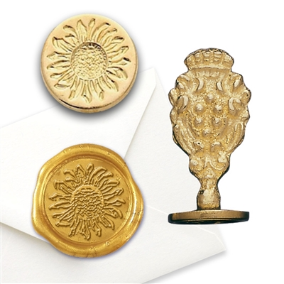 Sunflower Wax Seal