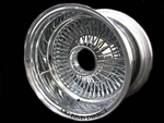 13X7 Reverse 72 Spokes Straight Lace ALL CHROME