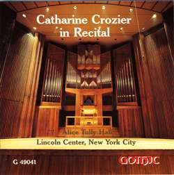 Catharine Crozier in Recital