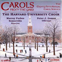 Carols from Harvard Yard -Murray Forbes Somerville
