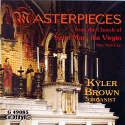 Masterpieces at St Mary Virgin NYC - Kyler Brown