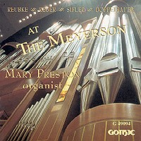 Mary Preston at the Meyerson