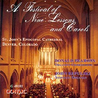 Lessons and Carols at St John's Cathedral, Denver - Pearson
