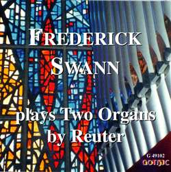 Two Organs by Reuter - Frederick Swann