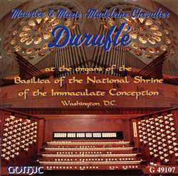 Maurice and Marie-Madeleine Duruflé play at the National Shrine