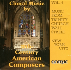 Choral Music by 20th Century American Composers