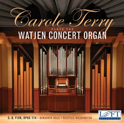 Carole Terry plays the Watjen Concert Organ