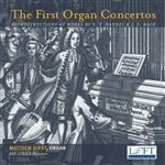 The First Organ Concertos / Ars Lyrica, Dirst