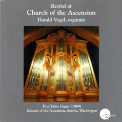 Recital at Ascension - Harald Vogel