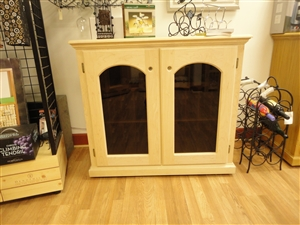 Showroom - 2 Door Credenza Refrigerated Wine Cabinet
