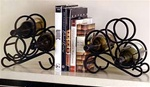 Scroll Rack Bookends