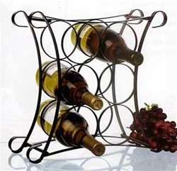 Wave Wine Racks - 4 and 6 bottles