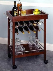 Beechwood Bar Cart