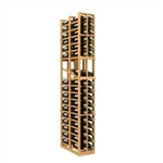 Double Deep 2 Column Wine Rack Display