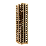 Double Deep 3 Column Wine Rack