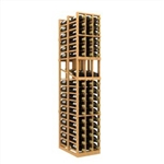 Double Deep 3 Column Wine Rack Display