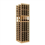 Double Deep 4 Column Wine Rack Display