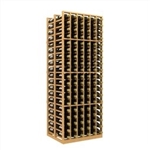Double Deep 6 Column Wine Rack