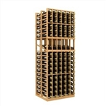 Double Deep 6 Column Wine Rack Display