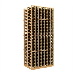 Double Deep 7 Column Wine Rack