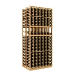 Double Deep 7 Column Wine Rack Display