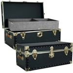 Mercury Luggage Academy Green Trunk